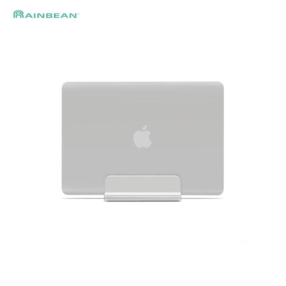 Original Aluminium Adjustable Vertical Desktop Laptop Holder Stand Bracket for Apple MacBook Pro Mac Book for Lenovo Notebook