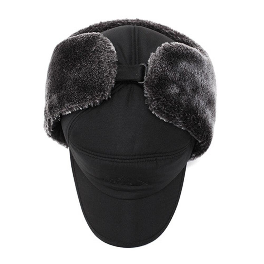 Unissex inverno quente trapper trooper chapéu dos