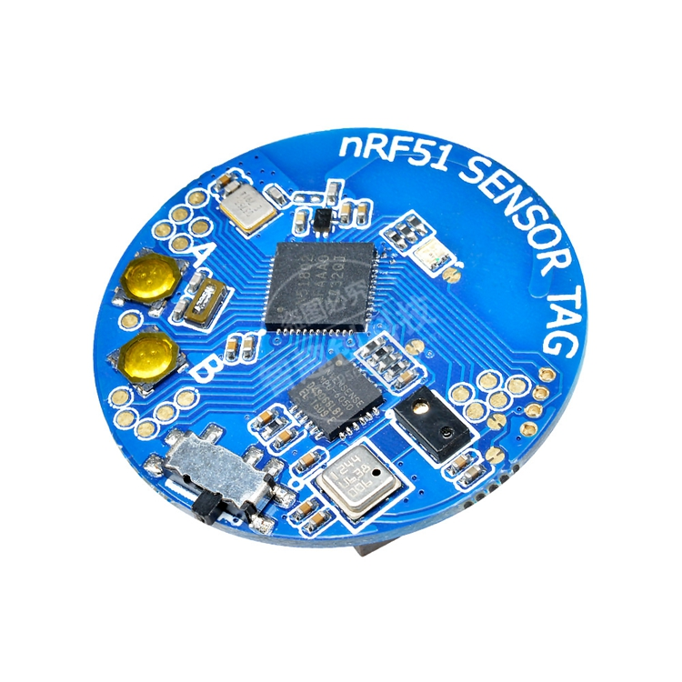 NRF5180 Bluetooth Temperature And Pressure Acceleration Sensor Gyroscope