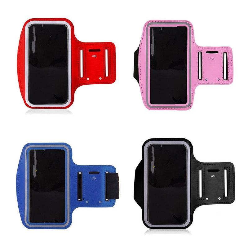 Sports Arm Bag Running Fitness Mobile Phone Arm Bag For All 4-6 Inch Phones Fitness Workout Arm Band Bag Running Equipment
