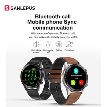 2020 SANLEPUS ECG montre intelligente Bluetooth 2
