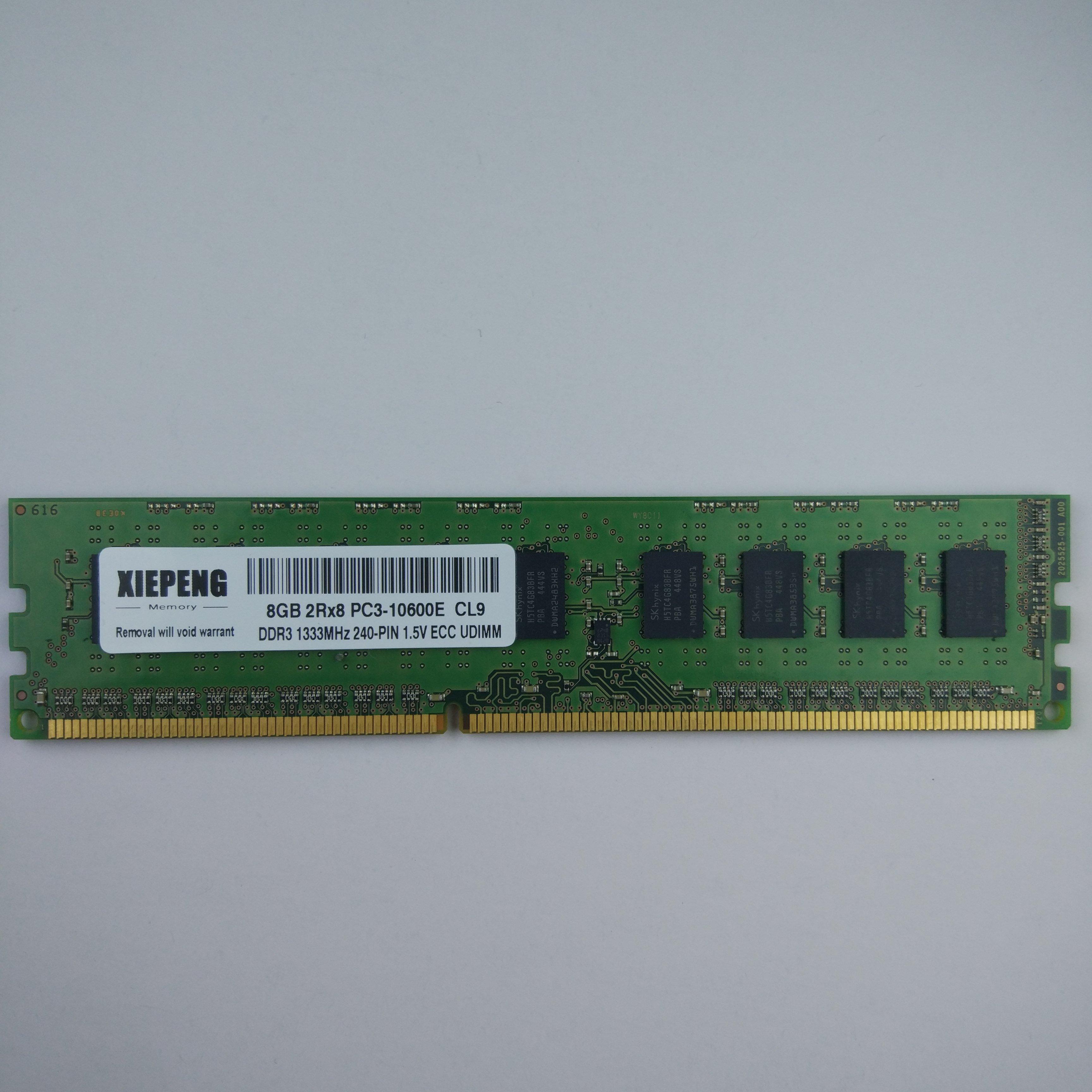 ل HP بروليانت ML310e Gen8 ML110 G7 ML10 DL120 G7 الخادم 8GB DDR3 1333MHz ECC RAM 4GB 2Rx8 PC3 10600E غير مصقول ECC الذاكرة ذاكرات RAM  - AliExpress