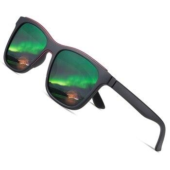 AOFLY BRAND DESIGN Square Polarized Sunglasses Men Women Vintage TR90 Frame Driving Travel Sunglasses Male zonnebril heren UV400 aofly brand design classic polarized sunglasses men driving tr90 frame sunglasses goggles uv400 gafas oculos de sol af8091