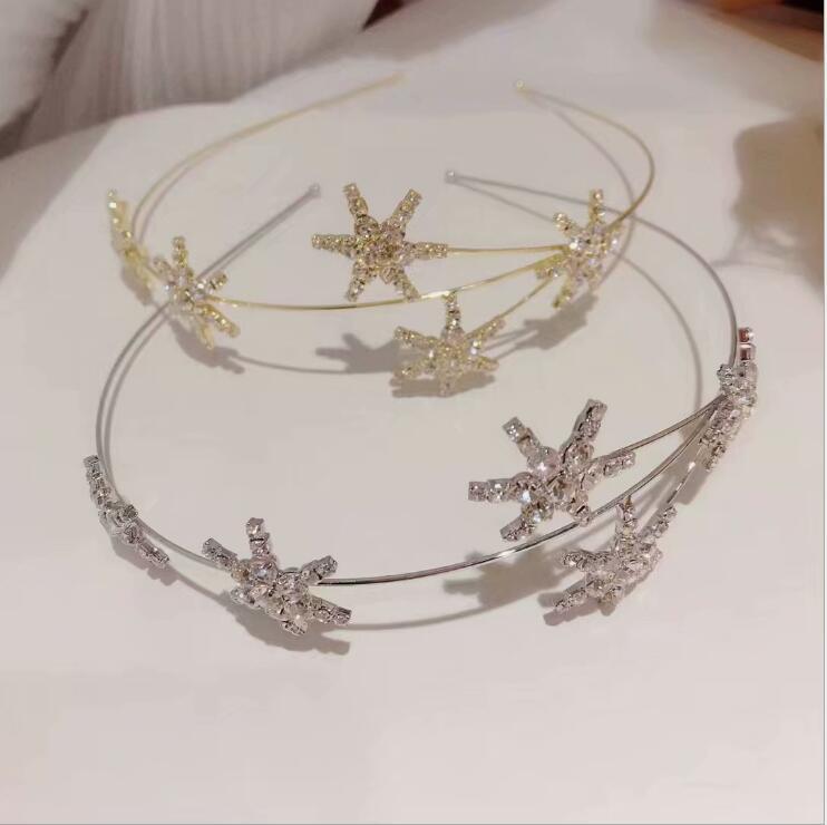 women headbands Super fairy star hair band super flash wild hair accessories female hairbands