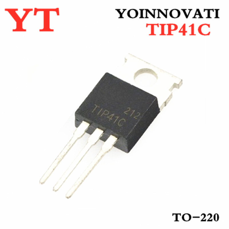 Free Shipping  100pcs/lot TIP41C TIP41 TO-220 IC Best Quality