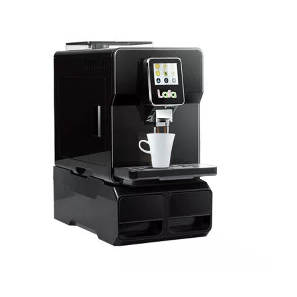 BASO-S6008 Automatic coffee machine Bean to cup coffee Espresso Americano Latte Cappuccino 220V50Hz