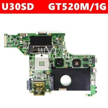 U30SD GT520M/1G mainboard REV2.0 Per U30SD U30S N12P-GV-S-A1 scheda madre del computer portatile 60-N3ZMB1300-A19 Testati Al 100% di Lavoro