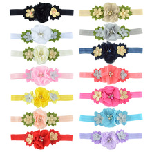 2 PCS Dog Flower Cat Collar With Elastic Pet Collar with Fashion Flower Small Dog Pet Supplies Dog Products