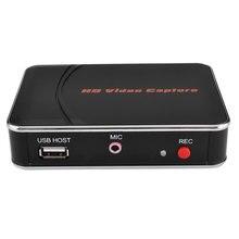 HDMI Video yakalama, yakalama HDMI Video HDMI Set üstü kutusu, bilgisayar, oyun kutusu, vb, Mic mikrofon ile USB Disk doğrudan