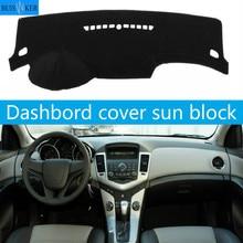 Car Inner Auto Dashboard Cover Dashmat Pad Carpet Sun Shade Dash Board Cover For Chevrolet Cruze With Storage Box 2009-2014 csp15 auto ac compressor pump with clutch for chevrolet cruze 2007 2008 2009 68799768 13250596 135310475
