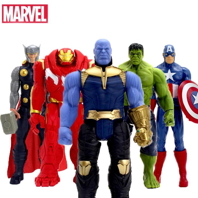 Marvel Avengers Infinity War 30CM Super Hero Spider Man Iron Man Thanos Wolverine Spider Man Iron Man Action Figure Toy Dolls