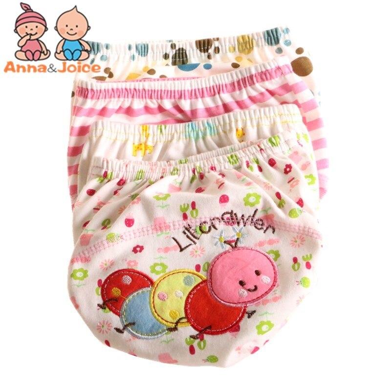 30Pcs/lot  Baby Training Pant Baby Cartoon Underwear Cotton Learning/study Infant Pants Size 100 Suit 13--16kg