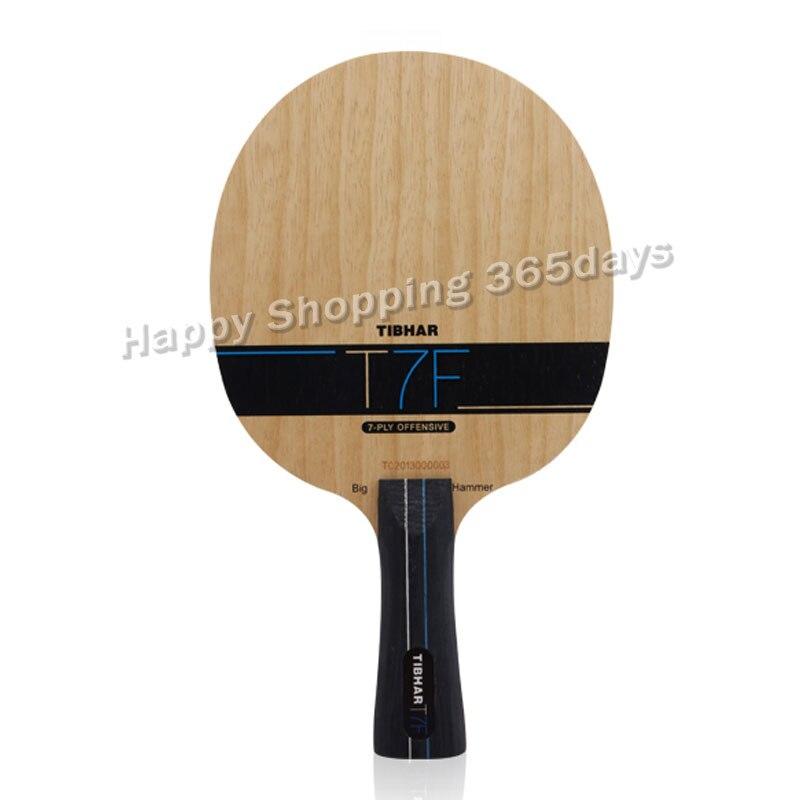 Tibhar T7F фирменные ракетки для настольного тенниса с углеродным лезвием, ракетка для настольного тенниса, Спортивная быстрая атака с петлей