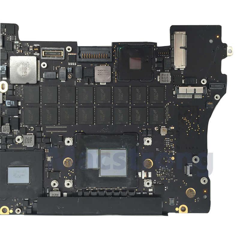 """Testowana oryginalna płyta główna A1398 2015 820-00163/00426-A dla Macbook Pro Retina 15 """"A1398 płyta główna 2.2G/2.5G 16GB 820-00138-A"""