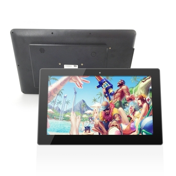 2020 new design digital display stands all in one computer android 10.1 inch wall mount tablet PC with rj45