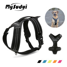 MySudui Truelove No Pull Dog Harness Pet Vest Large Small Adjustable Safety Walking For
