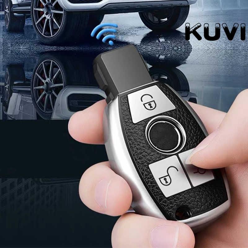 Nowa gorąca sprzedaż miękka tpu obudowa kluczyka do samochodu brelok case dla Mercedes benz CLS CLA GL R SLK AMG A B C S klasa uchwyt zdalnie sterowany akcesoria