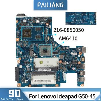 For Lenovo Ideapad G50-45 NM-A281 A8-6410  216-0856050 DDR3L Mainboard Laptop motherboard tested OK