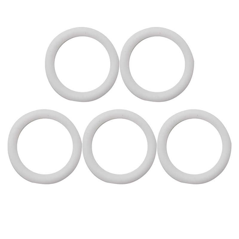 5 pçs o-anéis silicone bebê manequim chupeta clipes de corrente adaptador titular para mam
