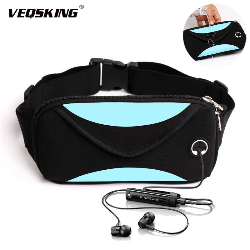 outdoor sports storage waistpacks very suitable for running Fitness sports belt fitness riding belt waterproof running belt
