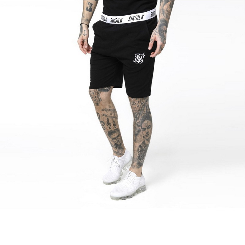 Summer Men Shorts Hip Hop Fashion Male Short Pants Sik Silk Embroidery Male  Silk Silk Mens Casual Shorts