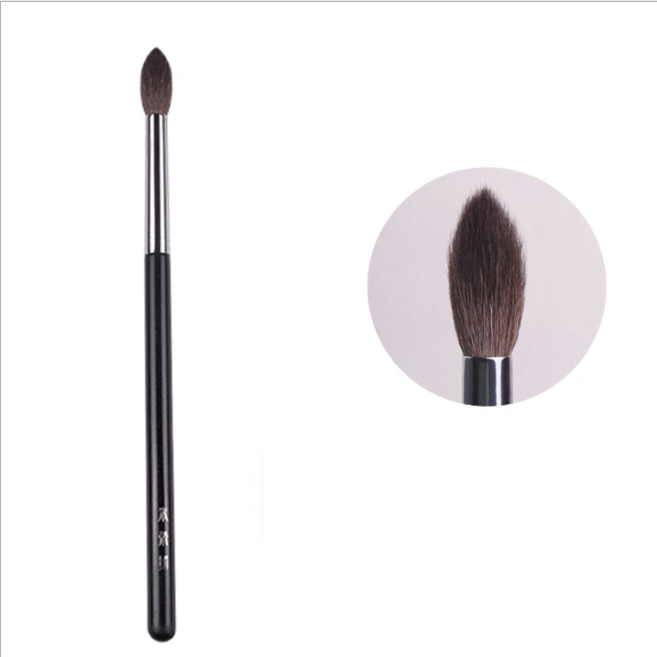1pc Highlighter Makeup Brushes Eyeshadow Crease Multifunctional Make Up Brush Wood Handle Cosmetic Tool Natural Squirrel Hair