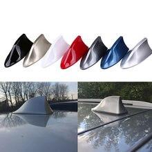 Antena barbatana de tubarão para carro, antena automotiva em formato de barbatana de tubarão para bmw e90 e60 e70 e87 1 3 5 6 séries m3 m5 x1 x5 x6 z4