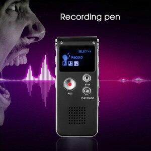Image 2 - Kebidumei 8GB cyfrowy Audio dyktafon Mini pamięć USB długopis z rejestratorem 650Hr dyktafon 3D Stereo MP3 odtwarzacz Grabadora Gravador