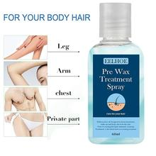 Hair-Removal Spray Waxing-Body Pre-Wax Smooth Cleansing-Treatment W7M8 60ml Before
