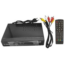DVB-T2 HD 1080P Set-Top Box TV Receiver Box 3D Digital Video Terrestrial MHEG4 TV Box(EU Plug)(China)
