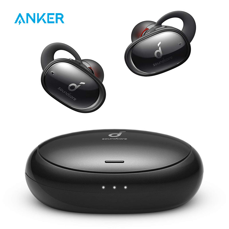 Soundcore Anker Liberty 2 Wireless Earbuds, Diamond-Coated Drivers, 32H Playtime, HearID Personalized Sound, Bluetooth 5.0