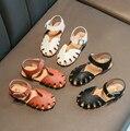 Neue Aushöhlen Mädchen Sandalen Infant Kinder Kid Baby Feste Schuhe Sandalen Schuhe Chaussure Princesse Kleinkind Mädchen Schuhe