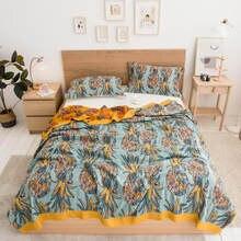 Bonenjoy colcha de malha manta de algodão macio thread cobertor para camas queen/king tamanho xadrez no sofá 230x250cm (sem fronha)