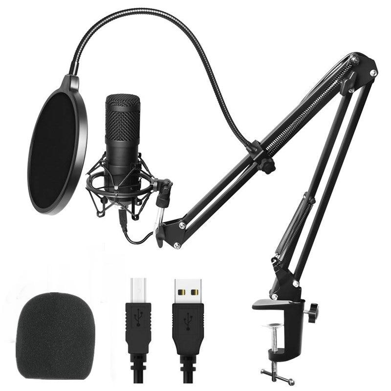USB bm 800 Studio Microphone Professional microfone bm800 Condenser Audio Sound Recording Microphone For computer