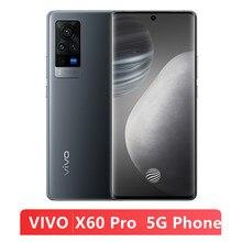 Original novo vivo x60 pro 5g smartphone 12gb ram 256gb rom 6.56 amamtela amoled 33w flash carregador 4200mah bateria celular