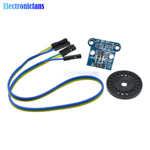 1 Set HC-020K Speed Measuring Sensor Module with Photoelectric Encoders 3Pin Female to Female Dupont Cable 4.5-5.5V for Arduino
