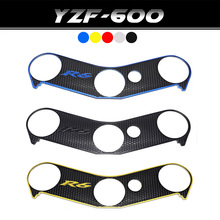 For Yamaha YZF R6 YZFR6 YZF-R6 Top Clamp Upper Front End Decal Motorcycle Sticker Protection Pad Triple Tree Paster 2006–2016