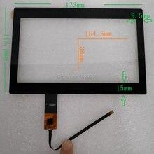 7 polegadas tela sensível ao toque capacitivo multi-touch 7 polegadas 16: 9 relação de exibição para a resolução correspondente 800x480 1024x600 1920x1080