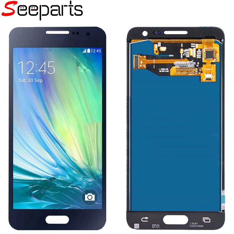TFT Screen A3 2015 Display For <font><b>Samsung</b></font> Galaxy <font><b>A300</b></font> <font><b>Lcd</b></font> With Touch Screen Digitizer Assembly A300F A300F A300M Display image