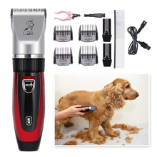 Dog Clippers Cordless Pet Grooming Clippers Rechargeable Pet Hair Trimmer Pet Grooming Clippers Professional Dog Grooming Kit professional dog hair clippers grooming kit low noise rechargeable cordless dog cat pet electric hair clipper​ trimmer 100v 240v