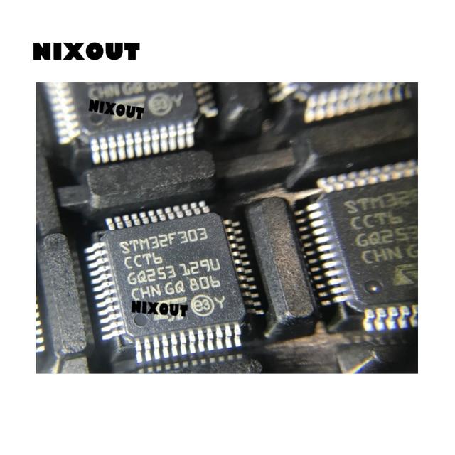 10PCS ~ 100 ชิ้น/ล็อต STM32F303CCT6 STM32F303 CCT6 LQFP 48 ผลิตภัณฑ์เดิม