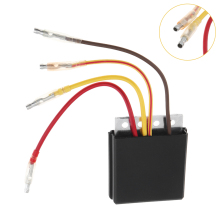 7.5CM Black Regulator FITS Voltage Rectifier Fit for POLARIS ATV MAGNUM500 SCRAMBLER00 SPORTSMAN500