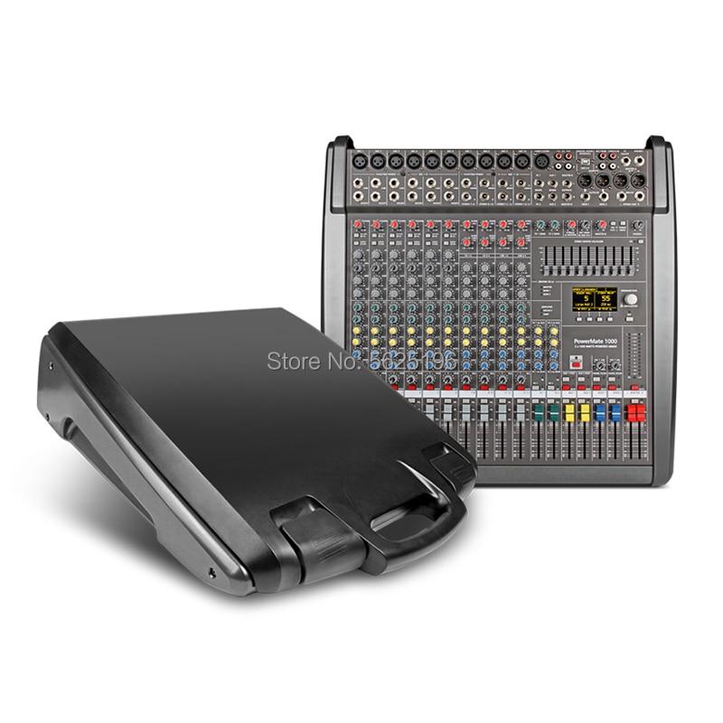 Dynacord Powermate 1000 PM1000 10 channel professional power audio mixer audio console 1000W * 2 digital power amplifier