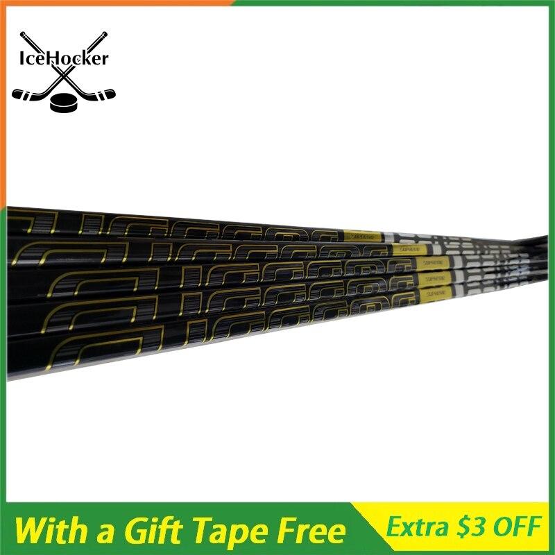 Great Quality Black Stick & B Quality Ice Hockey Sticks For Practice Under Ice 100% Corbon Fiber Ice Hockey Sticks