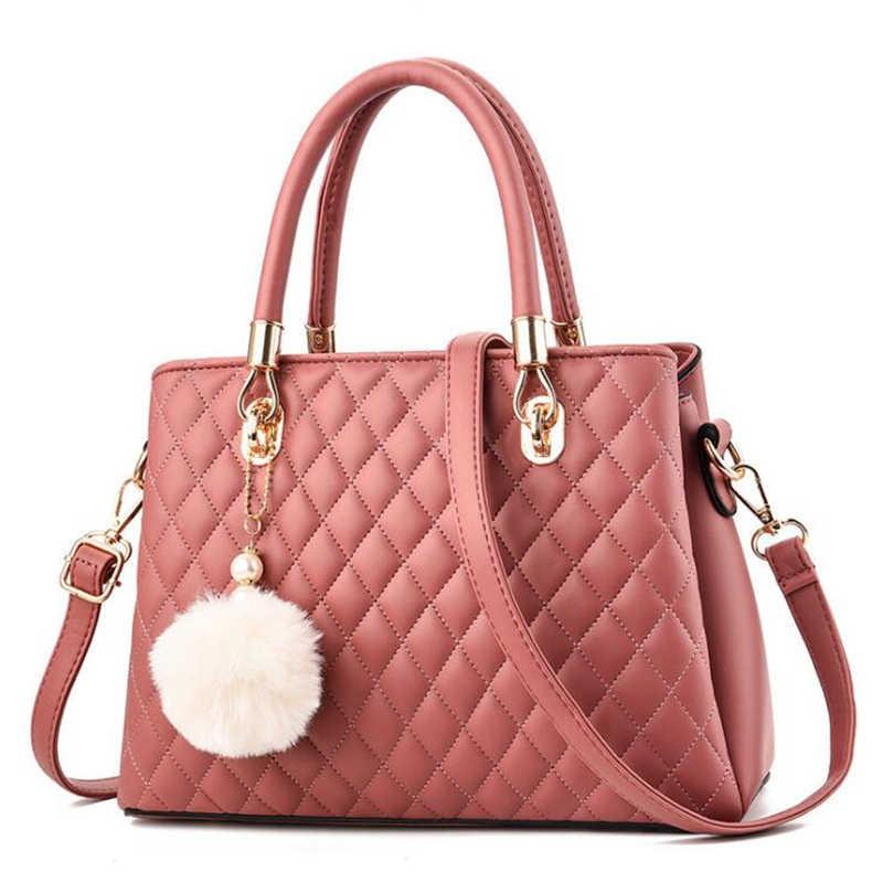 21 clube marca de moda pequena treliça diamante cor sólida senhoras totes escritório compras bolsa feminina sacos do mensageiro bolsas femininas
