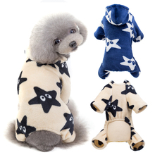 Warm Winter Dog Clothes Jumpsuit Soft Dog Coat Costume for Pet Clothing Puppy Outfits Overalls Small Dogs Chihuahua Yorkshire цена