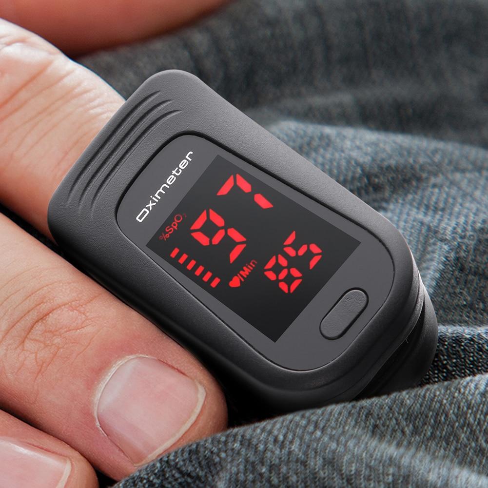 Finger Pulse Oximeter Digital Fingertip SPO2 Blood Oxygen Saturation Meter