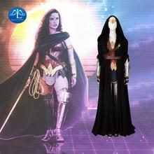 Manluyunxiao mulher maravilha cosplay diana príncipe dc ternos de super herói traje de halloween para as mulheres traje de máscaras feito sob encomenda