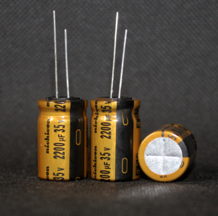 2pcs Free shipping Original nichicon 35V <font><b>2200uF</b></font> FW series golden <font><b>audio</b></font> electrolytic filter capacitor image