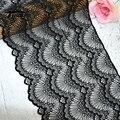 #257 гребешок однотонного черного цвета из стрейчевого эластичного материала кружево отделка шитье аппликацией одежда аксессуары подвязки, ...